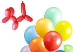 長條氣球、5吋圓形氣球